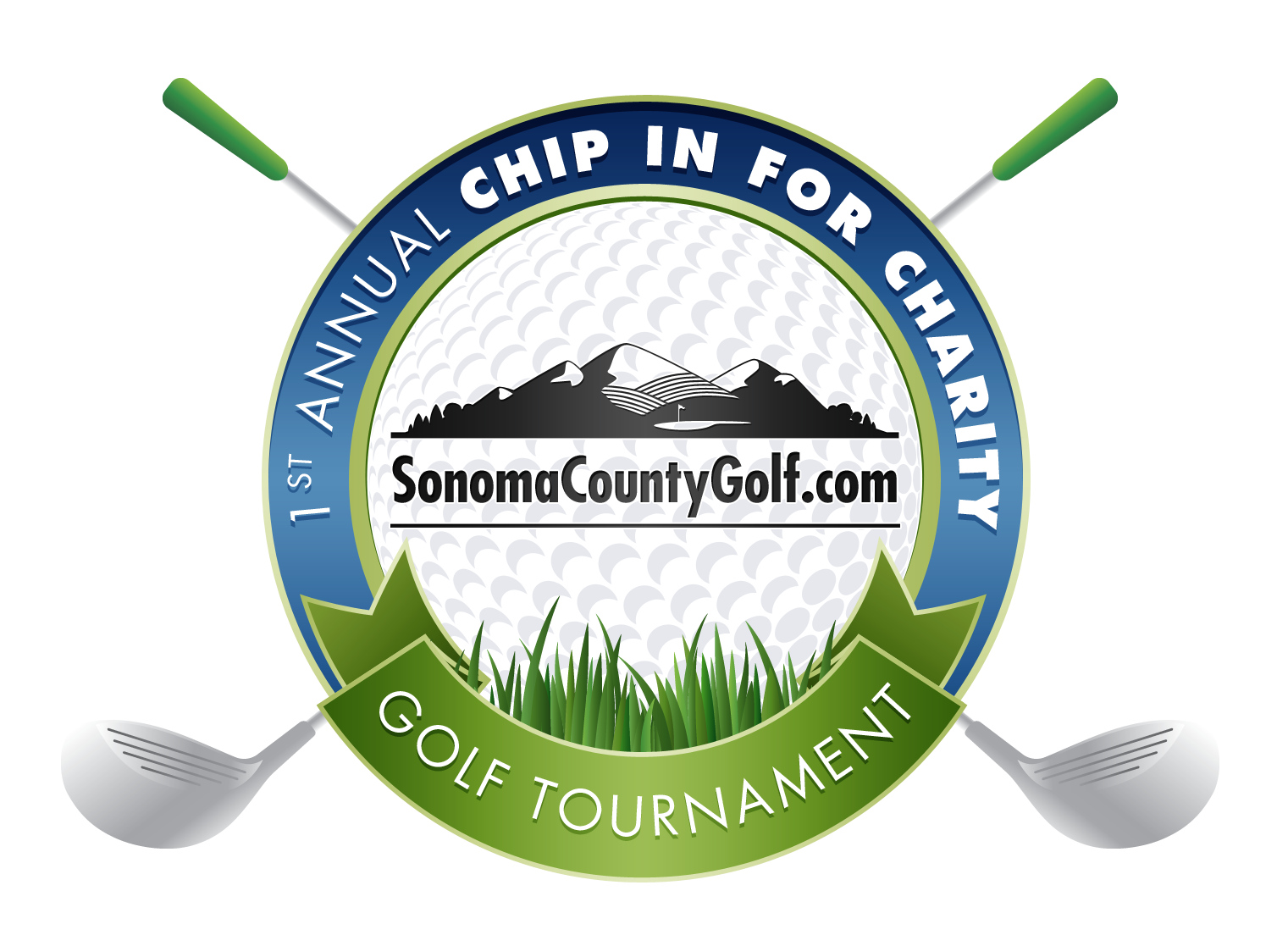 Sonoma County Golf 1st Annual Chip In For Charity Golf Tournament logo