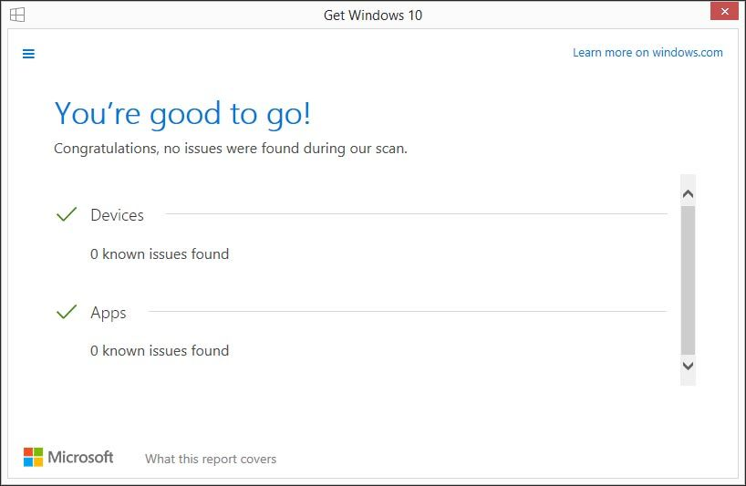 Windows 10 Compatability Issues