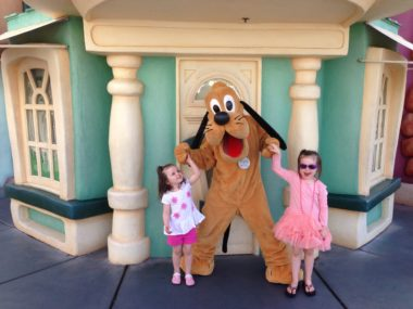 Teagan & Tessa Disneyland