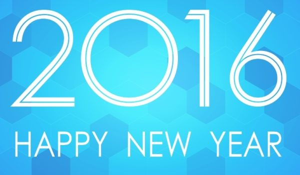 Happy New Year to 2016