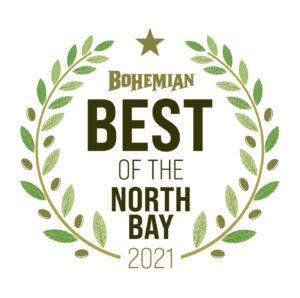 North Bay Bohemian Best of North Bay 2021 Award Logo
