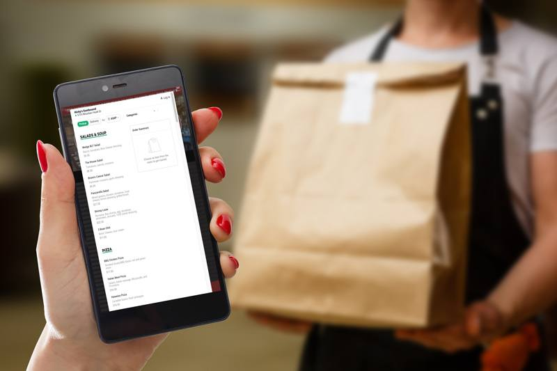 Online and mobile phone ordering for Sonoma County Restaurants during COVID-19